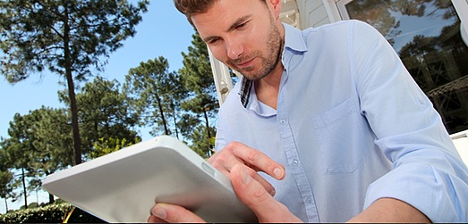 Utilize a Tablet in Real Estate
