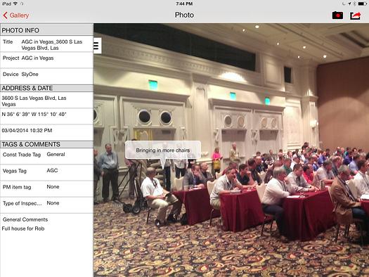 Mobile app screenshot of AGCofA Annual Convention in Las Vegas